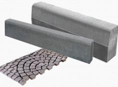 Тротуарная плитка, бордюры, решетки